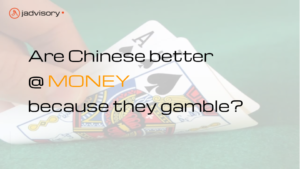 Are Chinese Better at Money because they Gamble?