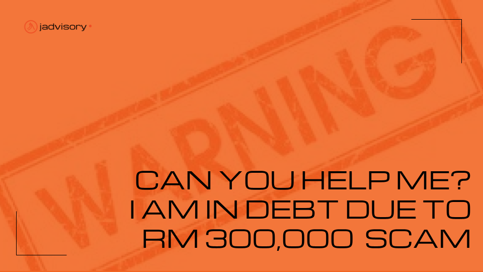 Can you help me? I am in 300K debt