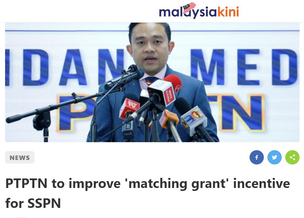 SSPN matching grant